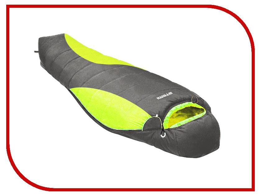 Cпальный мешок Atemi A1-18 (450g/m2, -12 C) Black-Green