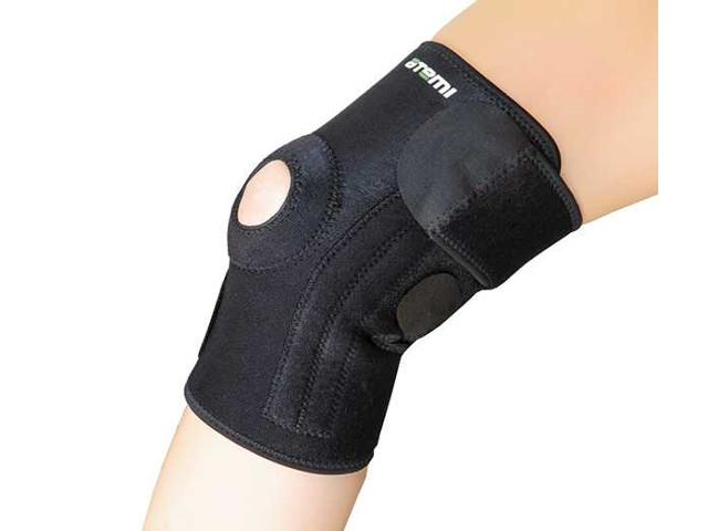 Ортопедическое изделие Суппорт колена Atemi ANS011 открытый, безразмерный