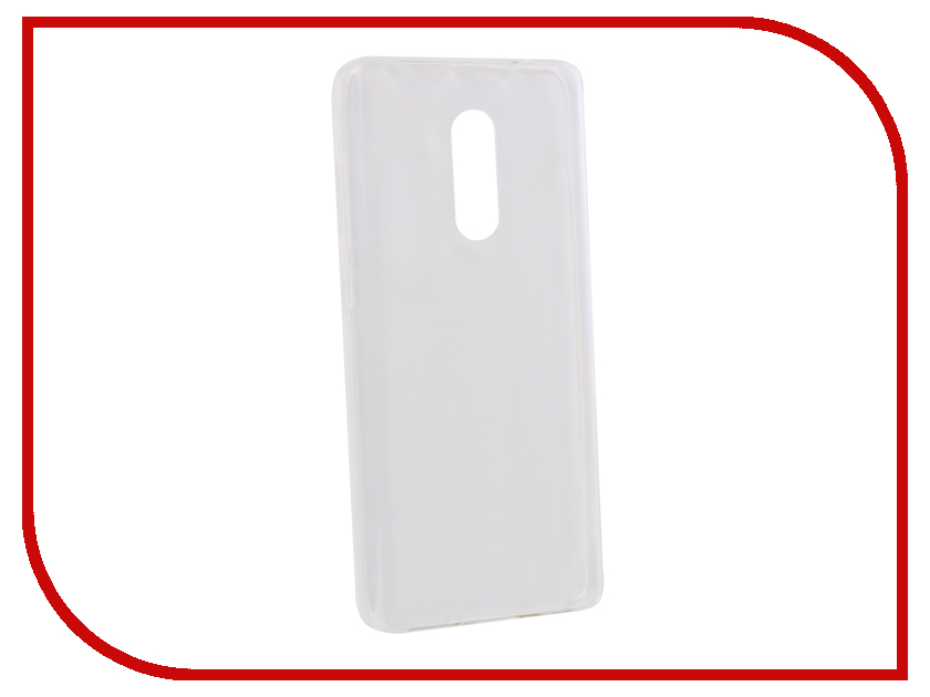 Аксессуар Чехол для Xiaomi Redmi Note 4X Optmobilion прозрачный прозрачный мягкий тонкий корпус для xiaomi redmi 4x