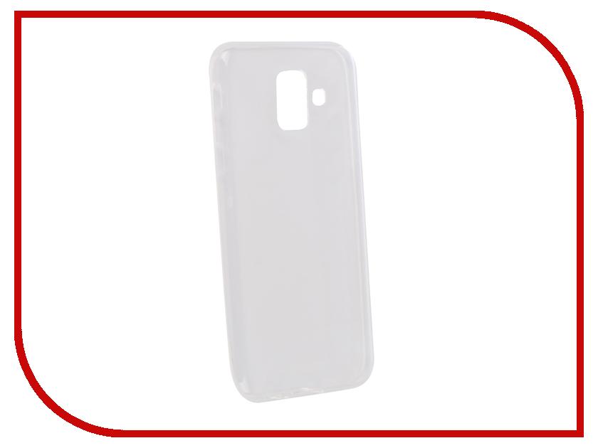 Аксессуар Чехол для Samsung Galaxy A6 2018 Optmobilion аксессуар чехол samsung j3 2017 j330f zibelino clear view black zcv sam j330 blk
