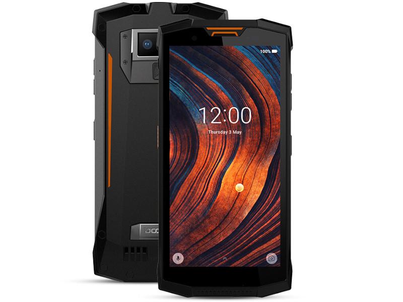 Сотовый телефон DOOGEE S80 Lite Fire Orange сотовый телефон vertex impress tor black orange