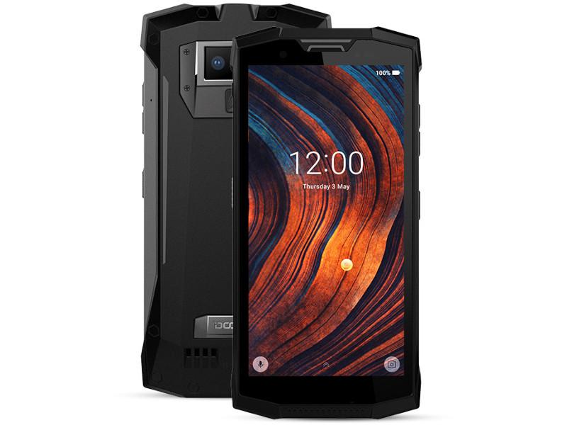 Сотовый телефон DOOGEE S80 Lite Mineral Black сотовый телефон doogee x60 matte black