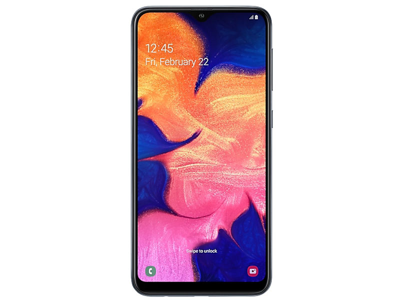 Сотовый телефон Samsung Galaxy A10 Black