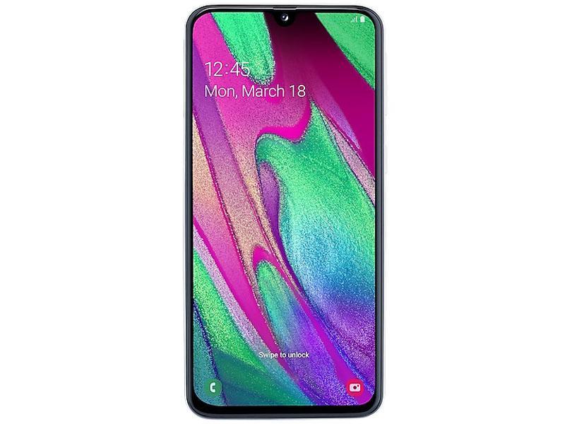 Сотовый телефон Samsung Galaxy A40 4Gb RAM 64Gb White