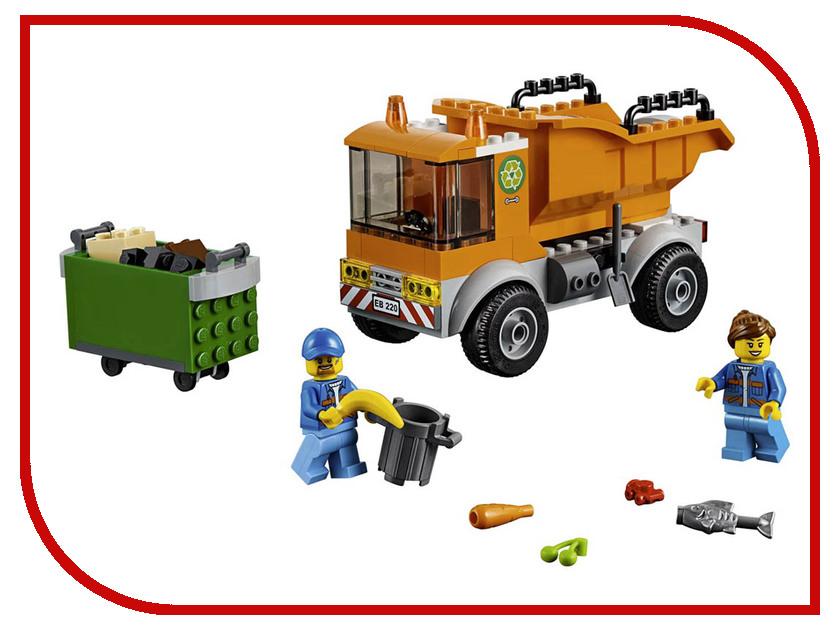 Конструктор Lego City Мусоровоз 90 дет. 60220 конструктор lele city сверхмощный спасательный 448 дет 02068