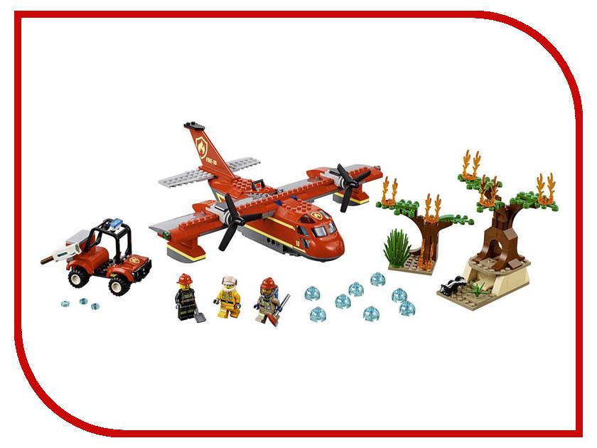 Конструктор Lego City Пожарный самолёт 363 дет. 60217 конструктор lele city сверхмощный спасательный 448 дет 02068
