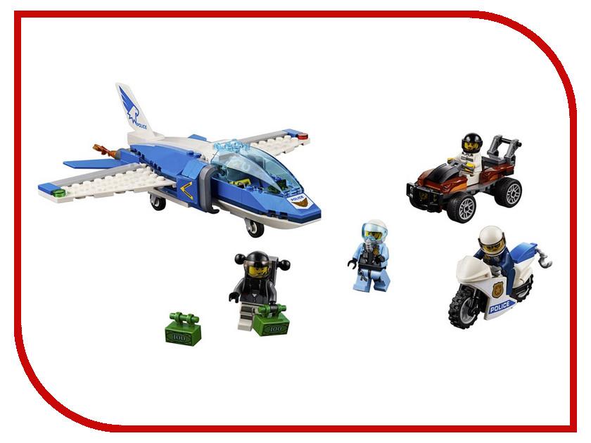Конструктор Lego City Воздушная полиция: Арест парашютиста 218 дет. 60208 конструктор lele city сверхмощный спасательный 448 дет 02068