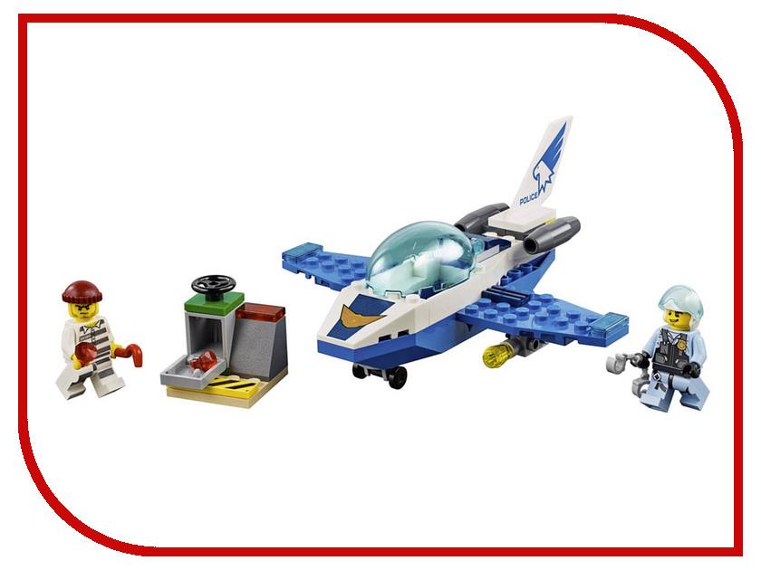 Конструктор Lego City Патрульный самолёт 54 дет. 60206 lego lego city 60129 лего сити полицейский патрульный катер