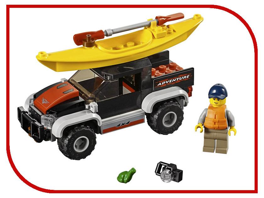 Конструктор Lego City Сплав на байдарке 84 дет. 60240 конструктор lele city сверхмощный спасательный 448 дет 02068