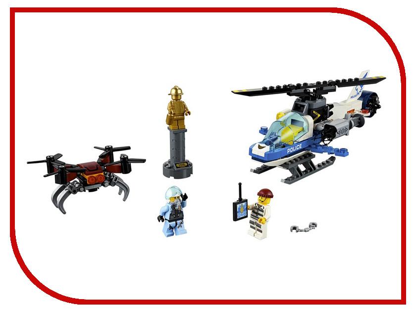 Конструктор Lego City Воздушная полиция: погоня дронов 192 дет. 60207 конструктор lele city сверхмощный спасательный 448 дет 02068