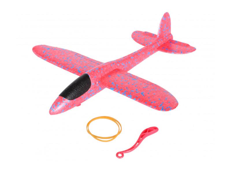 Самолет Bradex Планер малый размах крыла 36cm Red DE 0430