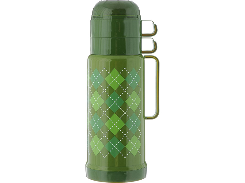 Термос Attribute Tartan AVF501 1L Green