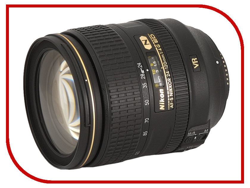 Фото - Объектив Nikon 24-120mm f/4G ED VR AF-S Nikkor meike fc 100 for nikon canon fc 100 macro ring flash light nikon d7100 d7000 d5200 d5100 d5000 d3200 d310