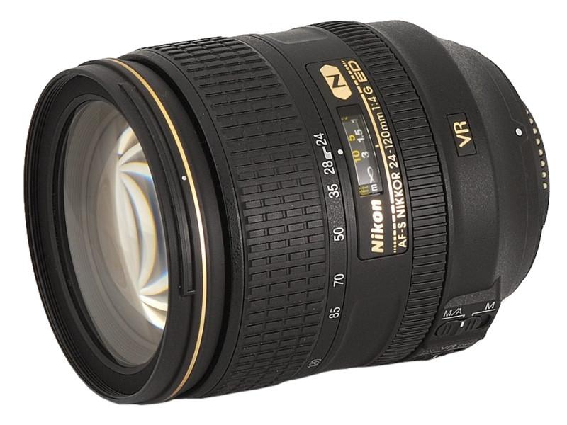 Фото - Объектив Nikon 24-120mm f/4G ED VR AF-S Nikkor цифровой фотоаппарат nikon z6 ii kit 24 70 f 4 s без адаптера