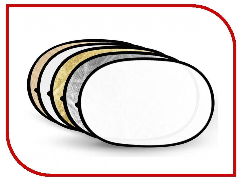 Светоотражатель Fujimi 120x180cm FJ-702 5 in 1 Silver/Gold/Black/White/Diffuser