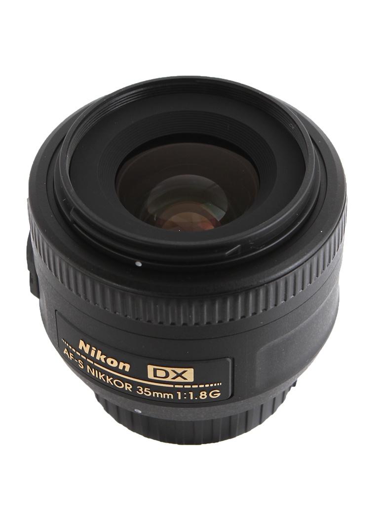 цена на Объектив Nikon Nikkor AF-S 35 mm f/1.8 G DX