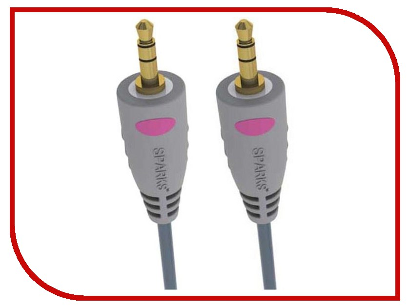 Аксессуар Sparks / Belsis Jack 3.5mm - Jack 3.5mm SG1130 / BGL1130 1.8m
