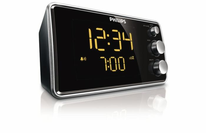 Купить многофункциональные часы & радио/будильники-гаджеты   Многофункциональные часы Philips AJ 3551
