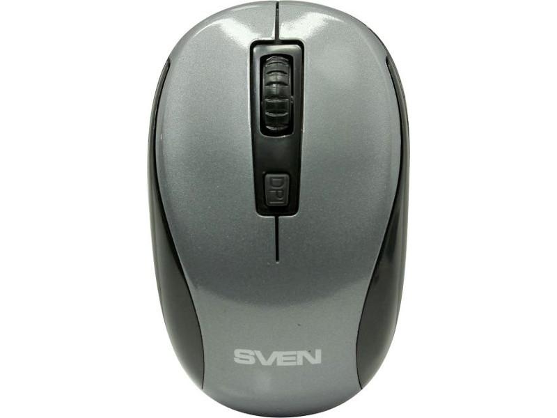 Мышь Sven RX-255W Grey SV-017736