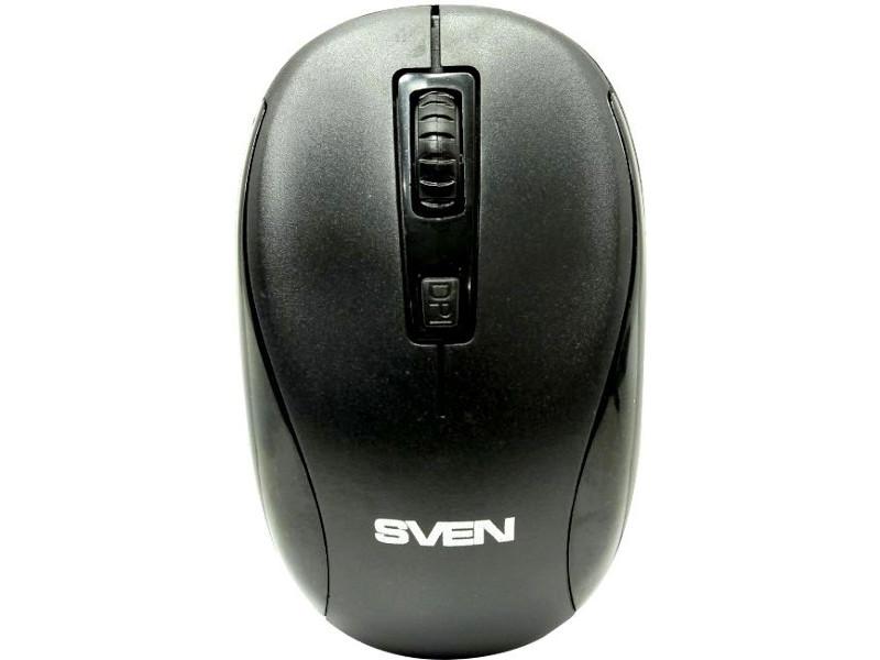Мышь Sven RX-255W Black SV-017712
