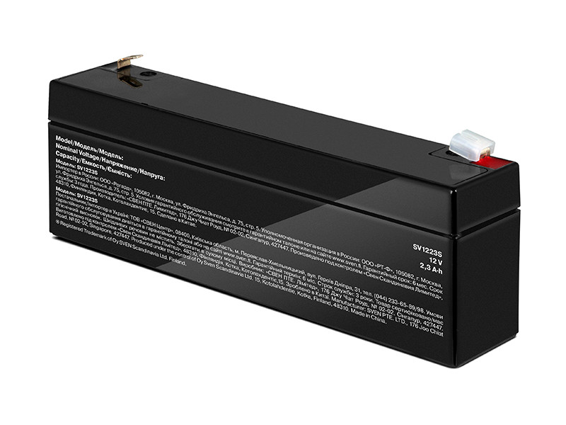 Фото - Аккумулятор для ИБП Sven SV1223S SV-017774 аккумулятор sven sv 12v17ah