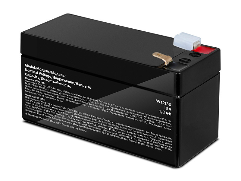 Аккумулятор для ИБП Sven SV1213S SV-017767 аккумулятор