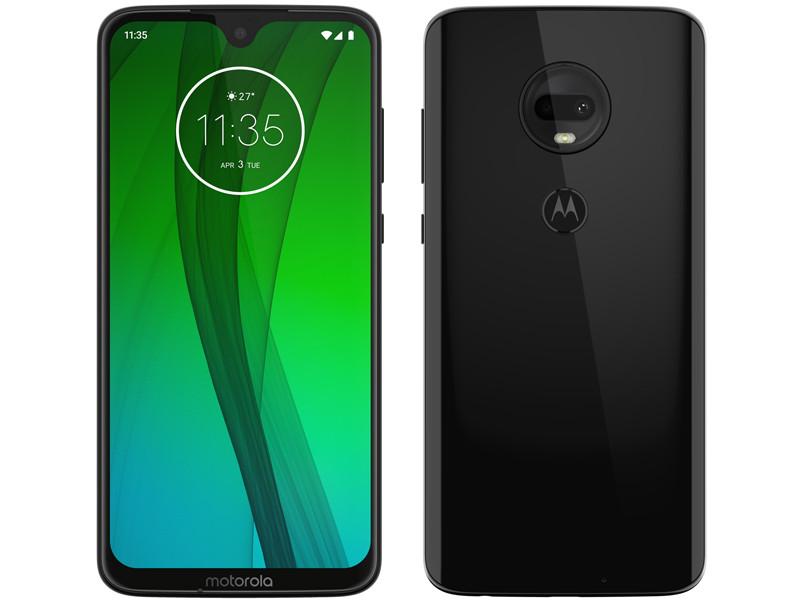 Сотовый телефон Motorola Moto G7 4Gb/64Gb Black