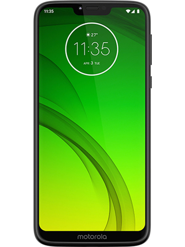 Сотовый телефон Motorola Moto G7 Power 4Gb RAM 64Gb Black сотовый телефон motorola moto z 32gb white gold
