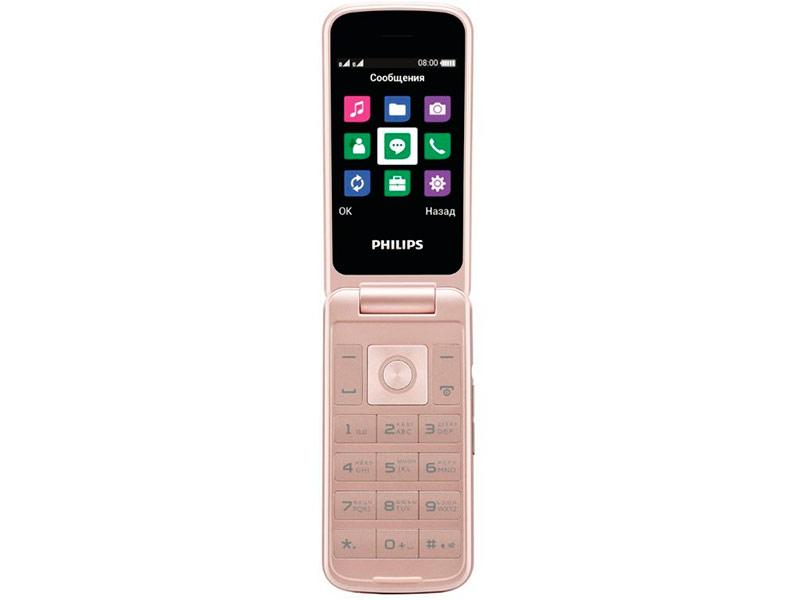 Сотовый телефон Philips Xenium E255 White