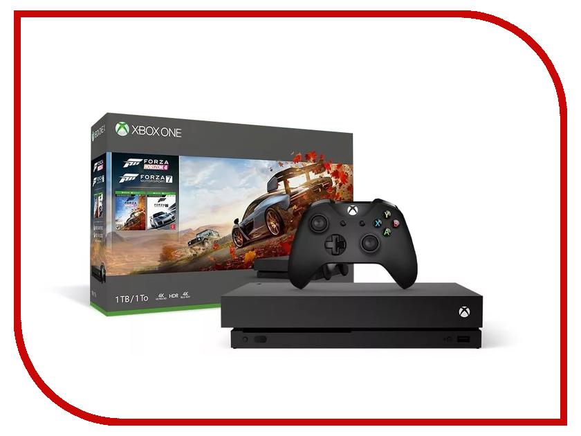 Игровая приставка Microsoft Xbox One S 1Tb Black + Forza Horizon 4 + 1 месяц Game Pass + 14 дней Live Gold