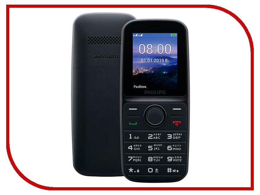 Купить Сотовый телефон Philips Xenium E109 Black