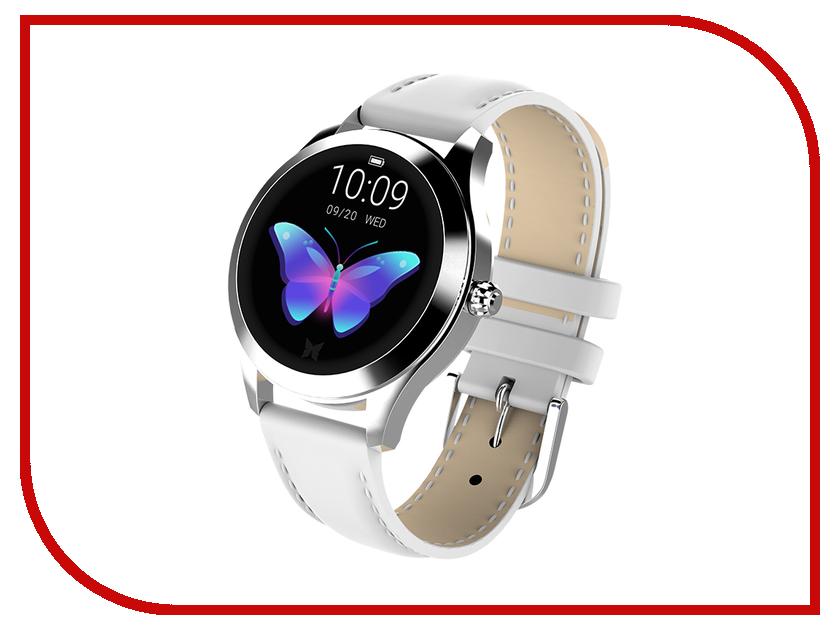 Умные часы KingWear KW10 White
