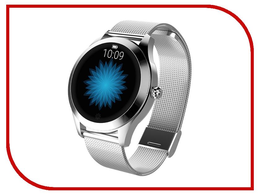 Умные часы KingWear KW10 Silver умные часы
