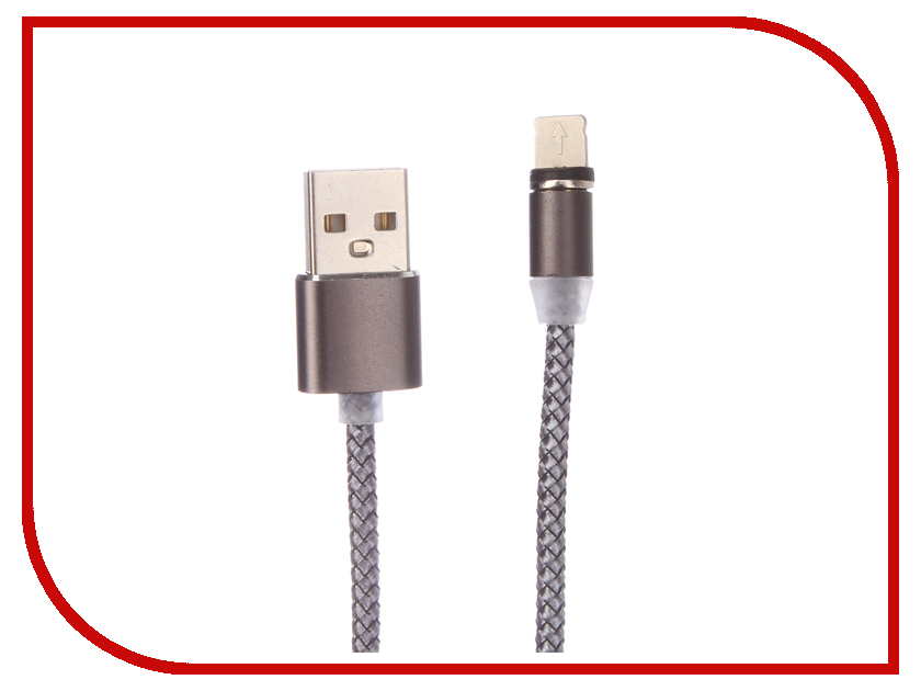 Аксессуар Zibelino USB - Lightning ZDCM-APL аксессуар usams us sj199 usb lightning 1 2m blue