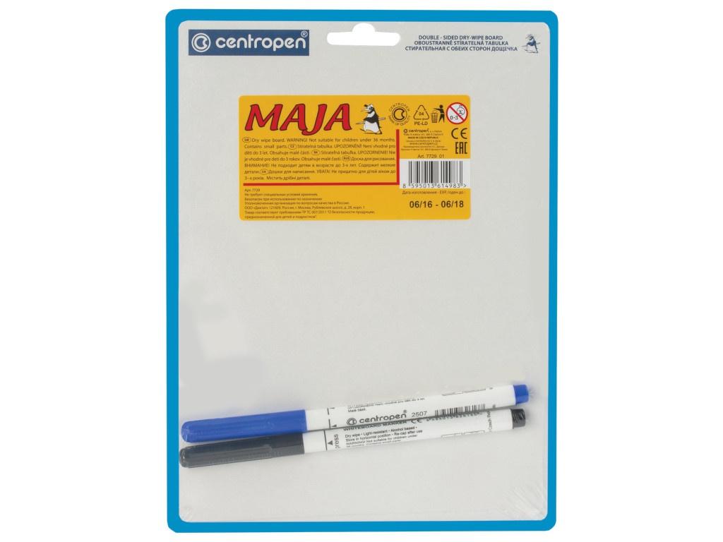 Доска маркерная Centropen Maja А5 18х24cm 7729