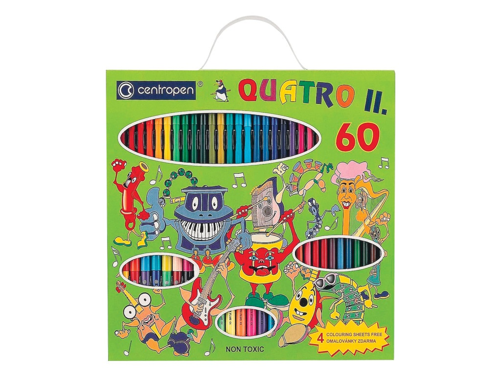Набор для рисования Centropen Quatro ll 9396/60