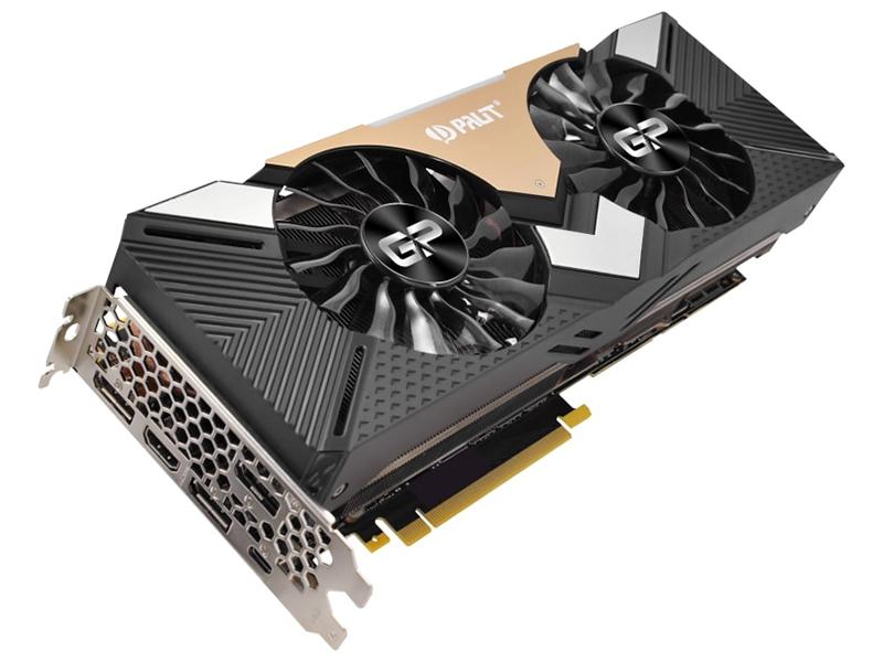 Видеокарта Palit GeForce RTX 2080 Ti Dual 1350Mhz PCI-E 3.0 11264Mb 14000Mhz 352-bit HDMI 3xDP Type-C NE6208T020LC-150A
