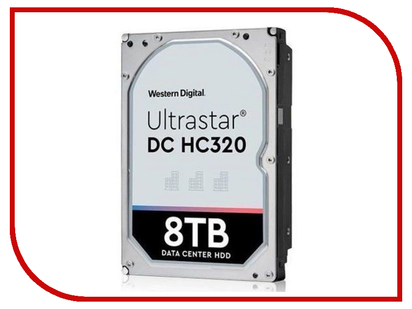 Жесткий диск 8Tb - Western Digital Ultrastar DC HC320 HUS728T8TALE6L4 0B36404 цены