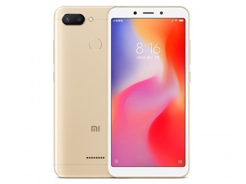 Сотовый телефон Xiaomi Redmi 6 3Gb RAM 64Gb Gold цена