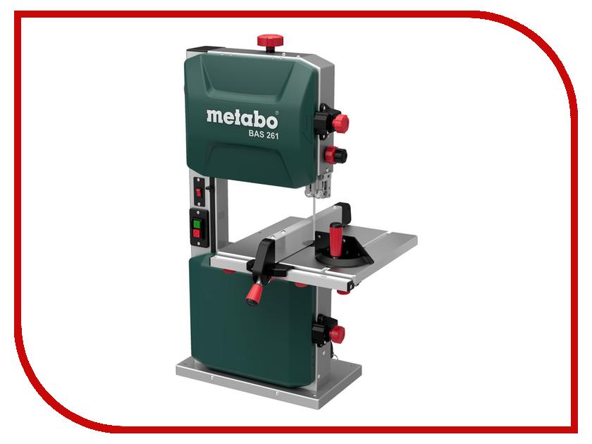 Пила Metabo BAS 261 Precision 619008000 пила ленточная metabo bas 505 605052000