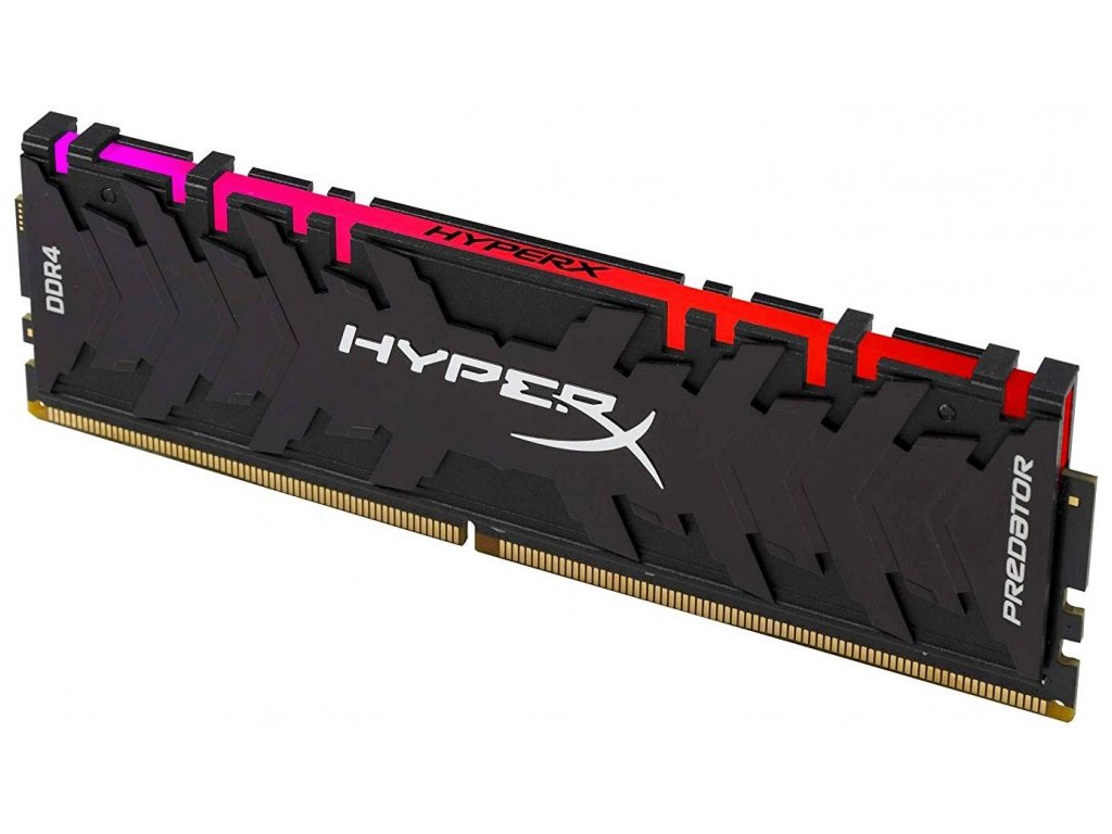 Модуль памяти Kingston HyperX Predator RGB DDR4 DIMM 3200MHz PC4-25600 CL16 - 16Gb HX432C16PB3A/16