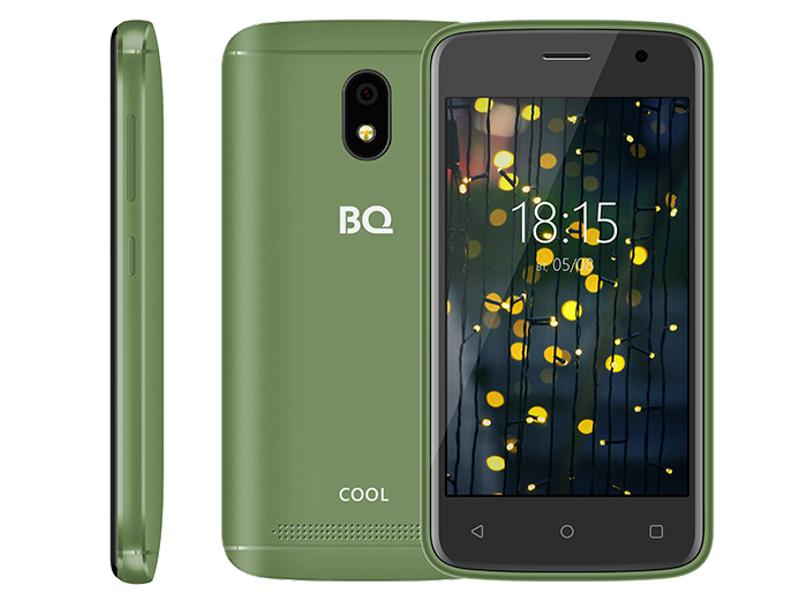 Сотовый телефон BQ BQ-4001G Cool Green