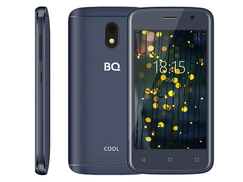 Сотовый телефон BQ BQ-4001G Cool Blue сотовый телефон bq 2808 telly black grey