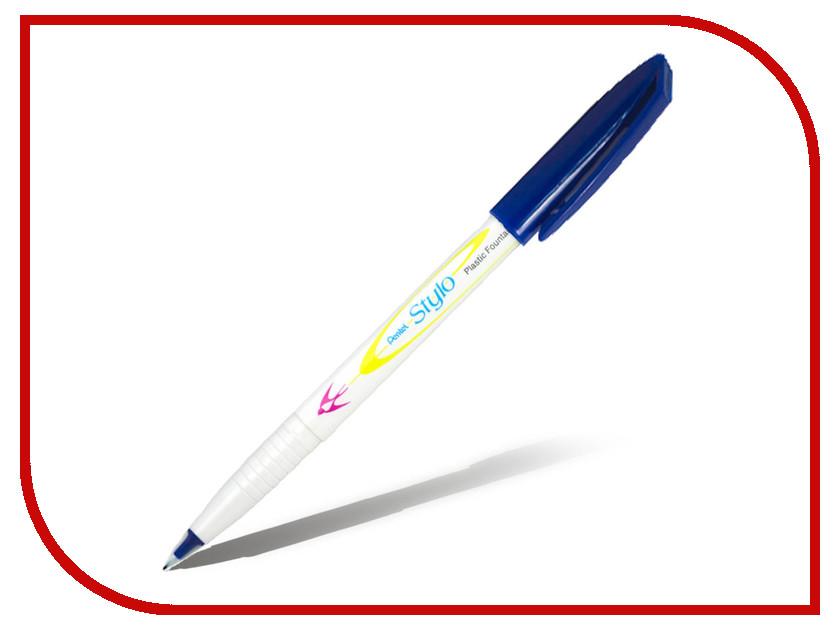 Купить Ручка капиллярная Pentel Stylo 0.4/0.7mm Blue JM11-C, Япония
