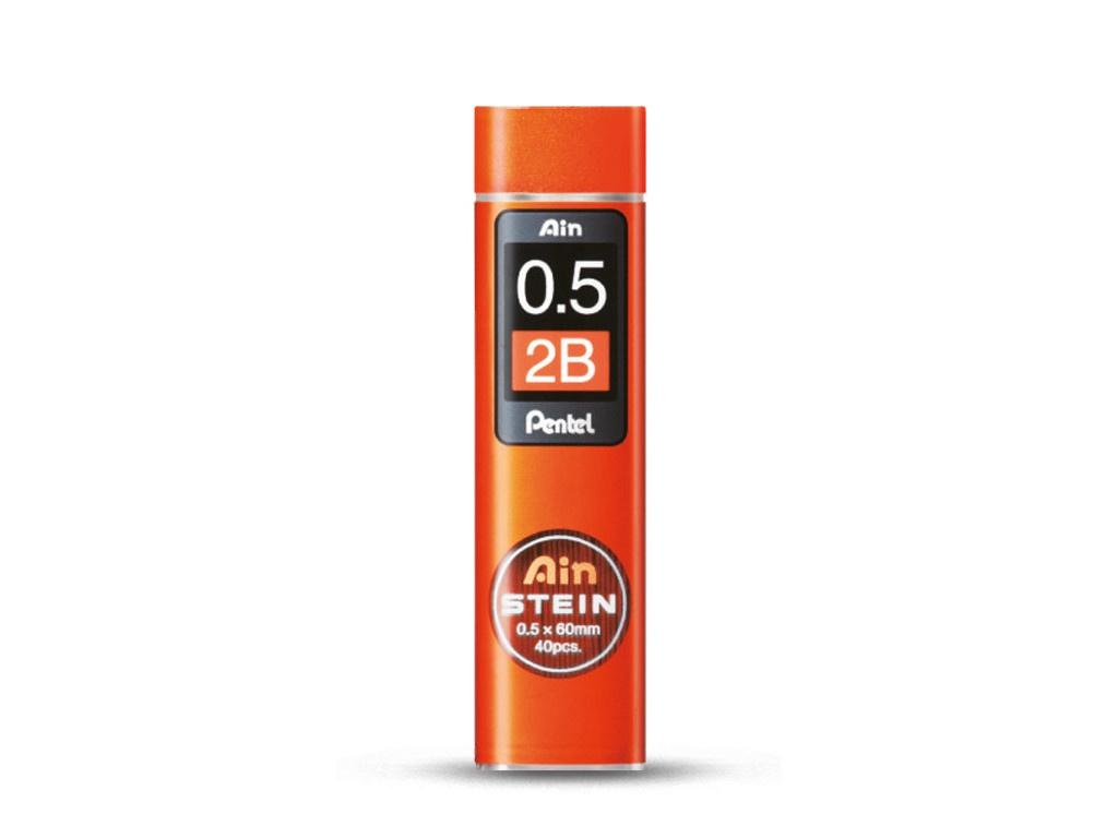 Грифель Pentel Ain Stein 40шт 0.5mm C275-2B