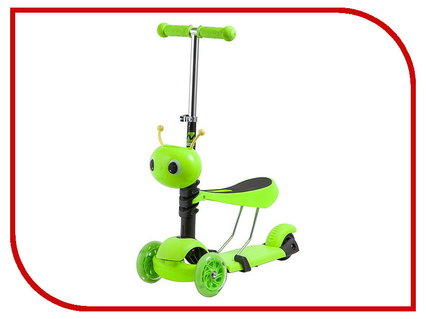 Самокат Novatrack Disco-Kids Green 120S.DISCOKIDS.GN9