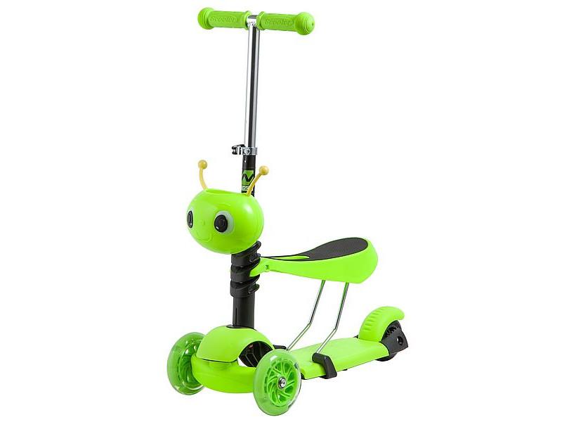 Самокат Novatrack Disco-Kids Green 120S.DISCOKIDS.GN9 цена