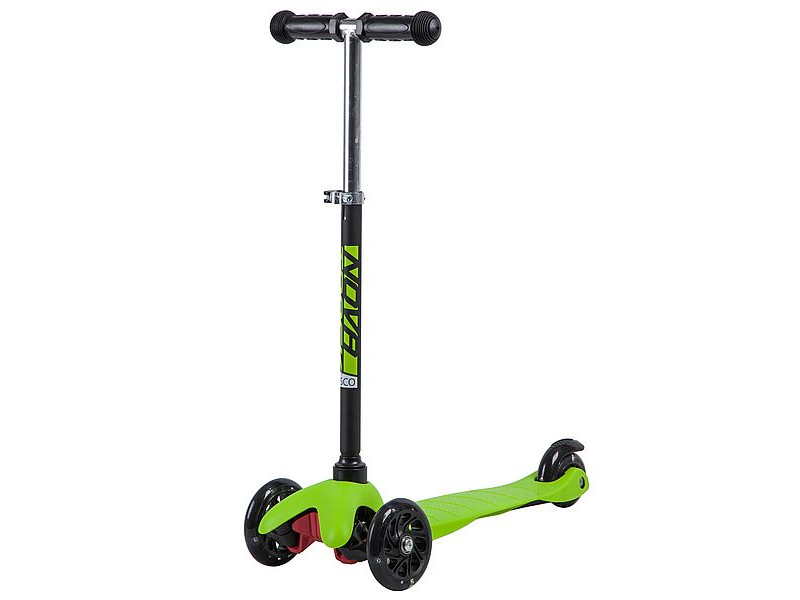 Самокат Novatrack Disco-Kids Black-Green 120H.DISCOKIDS.BGN9