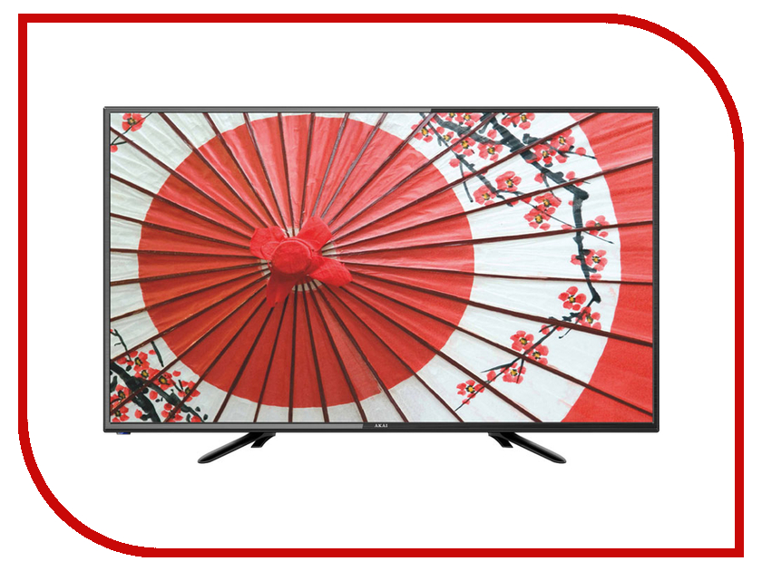 Телевизор Akai LEA-32D85M телевизор 55 akai lea 55v59p uhd 3840x2160 usb hdmi vga черный