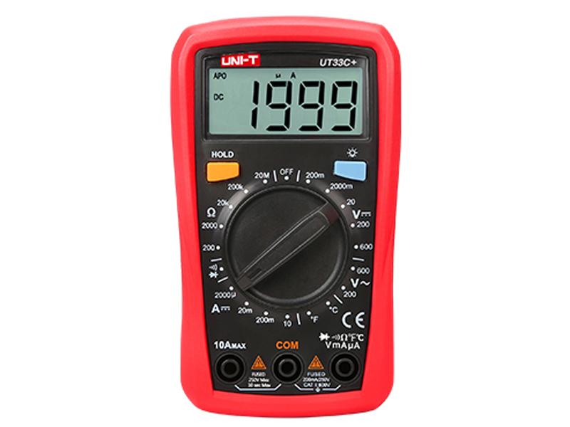 Мультиметр UNI-T UT33C+